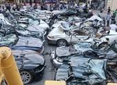 Philippines phá hủy 30 siêu xe mua từ tiền ma túy