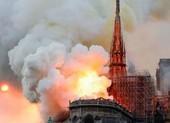 Công bố 2 giả thuyết gây cháy nhà thờ Đức Bà Pháp
