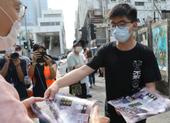 Hoàng Chi Phong và người biểu tình xuống đường ở Hong Kong
