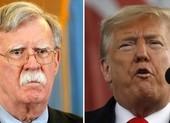 Nóng 'cuộc chiến' Trump-Bolton