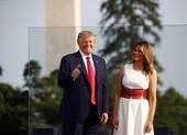 Ảnh: Ông Trump tổ chức Quốc khánh Mỹ tại Nhà Trắng