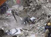 Sập nhà 5 tầng tại Ấn Độ, ít nhất 12 người thiệt mạng