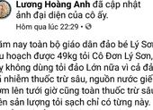 Đề nghị Bộ Công an vào cuộc vụ tin đồn xấu về tỏi Lý Sơn