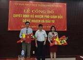 Sở Kế hoạch Đà Nẵng có 2 phó giám đốc mới
