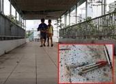 Sở GTVT đề nghị xử lý bơm kim tiêm trên cầu bộ hành