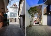 3 houses giải quyết nhược điểm trải dài của khu đất