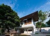 Ngôi nhà mái chồng mái cực kỳ ấn tượng ở Thái Nguyên