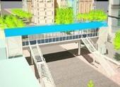 Cầu bộ hành có thang máy sắp xuất hiện ở TP.HCM