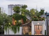 Ngắm căn nhà phố có cả 1 công viên cây xanh trên mái ở Sài Gòn
