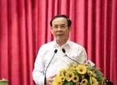 Bí thư Nguyễn Văn Nên: 'Làm ở đâu tôi cũng cống hiến hết mình'