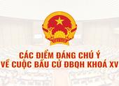 Infographic: Thông tin đáng chú ý về bầu cử Quốc hội khóa XV