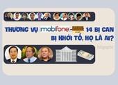 Thương vụ MobiFone - AVG: 14 bị can bị khởi tố là ai?