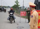 Bắc Giang: Tài xế qua đêm ở nơi có dịch phải cách ly 28 ngày