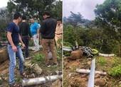 Ô tô lao xuống vực ở Tam Đảo, 4 người chết