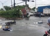 Hình sự truy tìm xe container tông chết người rồi bỏ chạy