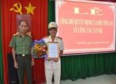 Bộ Công an điều động, bổ nhiệm nhiều cán bộ Công an Tiền Giang
