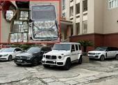 Cận cảnh dàn siêu xe và cả vali tiền bị thu giữ của 'ông trùm' cờ bạc ngàn tỉ
