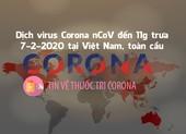 Dịch Corona đến trưa 7-2 ở VN, toàn cầu, tin mới về thuốc trị