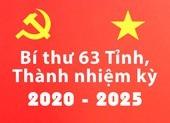 Infographic: Chân dung 63 bí thư tỉnh thành nhiệm kỳ 2020-2025