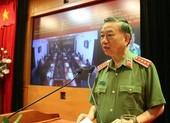 Bộ trưởng Tô Lâm: Không vì COVID-19 mà sao nhãng công tác