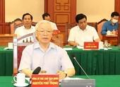 Tổng Bí thư chủ trì họp Tiểu ban Văn kiện Đại hội XIII