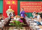 Chủ tịch Quốc hội làm việc với cán bộ chủ chốt tỉnh Đắk Nông