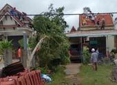 Quảng Nam: Lốc xoáy làm hư hỏng 20 ngôi nhà, cột điện ngã...