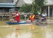 Nước sông Quảng Trị lên trở lại, Huế đạt đỉnh lũ lịch sử