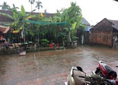 Thái Nguyên: Chiều 30 Tết xuất hiện mưa đá