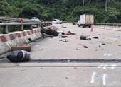 2 mẹ con tử vong do tai nạn trên đường từ miền Nam về quê