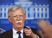 Ông Bolton: Mỹ sẽ ngăn Trung Quốc 'lập tỉnh mới' ở Biển Đông