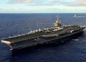 Tàu sân bay Mỹ bất ngờ xuất hiện ở Biển Đông