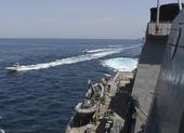 IRGC cảnh báo phá hủy tàu chiến Mỹ nếu đe dọa Iran