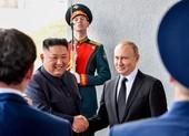 Ông Kim Jong-un gửi điện chúc mừng đến ông Putin