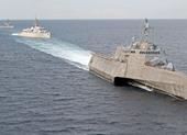 Tàu chiến Mỹ, Nhật tập trận ở Biển Đông