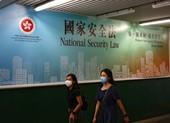 Trung Quốc chính thức ban hành luật an ninh quốc gia Hong Kong