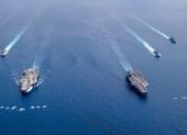 Diễn tập ở Biển Đông, thủy thủ Mỹ làm gì để ngừa COVID-19?