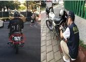 Đài Loan:Lao động Việt nhập cư lậu bị bắt vì biển số xe tự chế