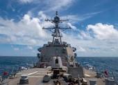 Ảnh: Mỹ điều tàu khu trục tuần tra Hoàng Sa đáp trả Trung Quốc
