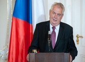 Tổng thống Czech lên tiếng xoa dịu Trung Quốc