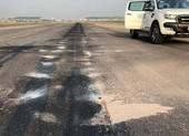 Vật thể lạ xuất hiện trên đường băng sân bay Nội Bài