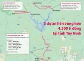Tây Ninh khởi công 3 dự án giao thông kết nối với Đông Nam bộ