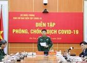 Bộ Quốc phòng tổ chức 250 điểm diễn tập chống dịch COVID-19