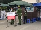 Chùm ảnh: Phong tỏa, thắt chặt giám sát y tế ở BV Bạch Mai