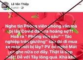 Luật sư Lê Văn Thiệp thừa nhận nội dung đăng tải trên Facebook