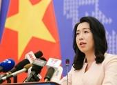 Việt Nam phản đối Trung Quốc xây dựng cáp ngầm ở Hoàng Sa