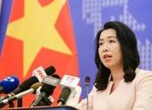 VN nói về việc Mỹ gửi công thư phản đối yêu sách của TQ