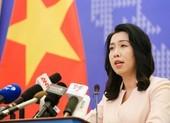 Việt Nam trao công hàm phản đối Trung Quốc tập trận ở Hoàng Sa