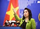 VN yêu cầu Trung Quốc hủy bỏ tập trận trái phép ở Hoàng Sa
