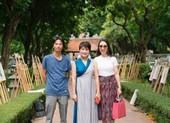 Giám đốc Nhà hát Nhạc vũ kịch Việt Nam triển lãm tranh